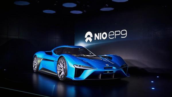 NIO EP9 рекорды